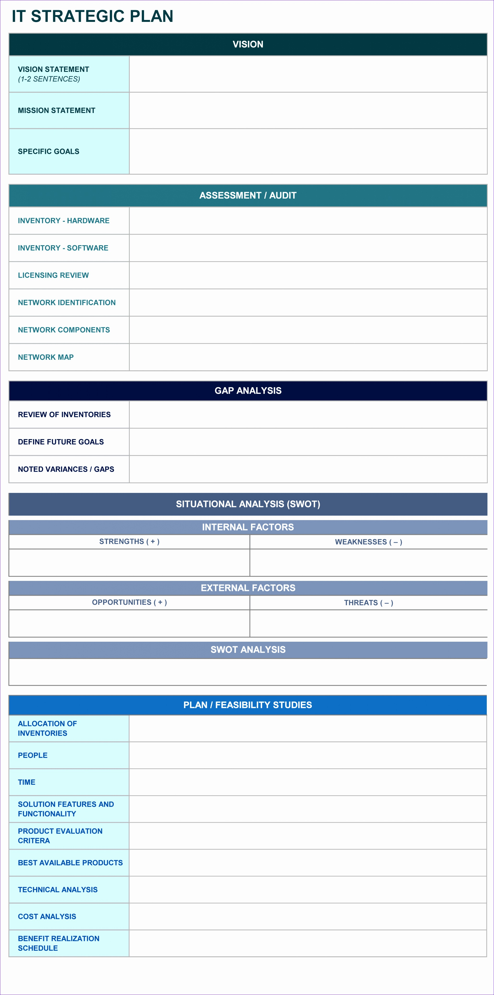 Simple Excel Project Management Template Vpkel Awesome 9 Free Strategic Planning Templates Smartsheet