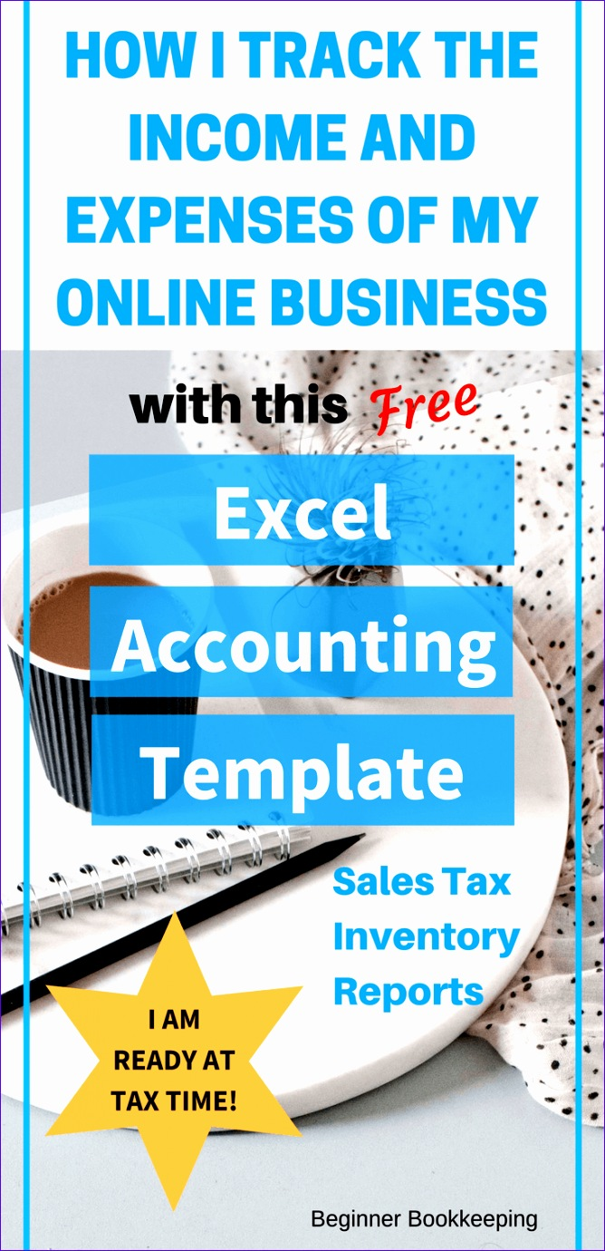 Accounting Excel Template Pinterest
