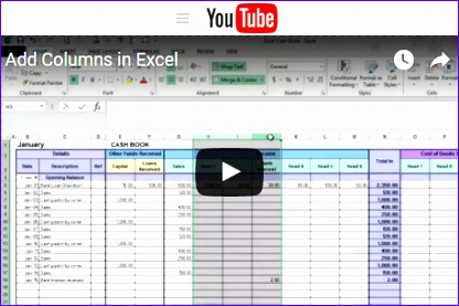 Free Excel Tutorial Videos