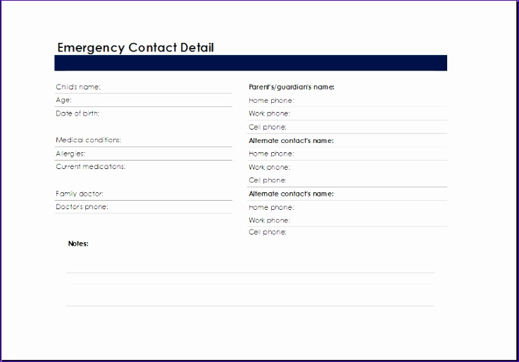 Small Business Budget Planning Sheet asfoe Lovely Printable Excel Emergency Contact List Template
