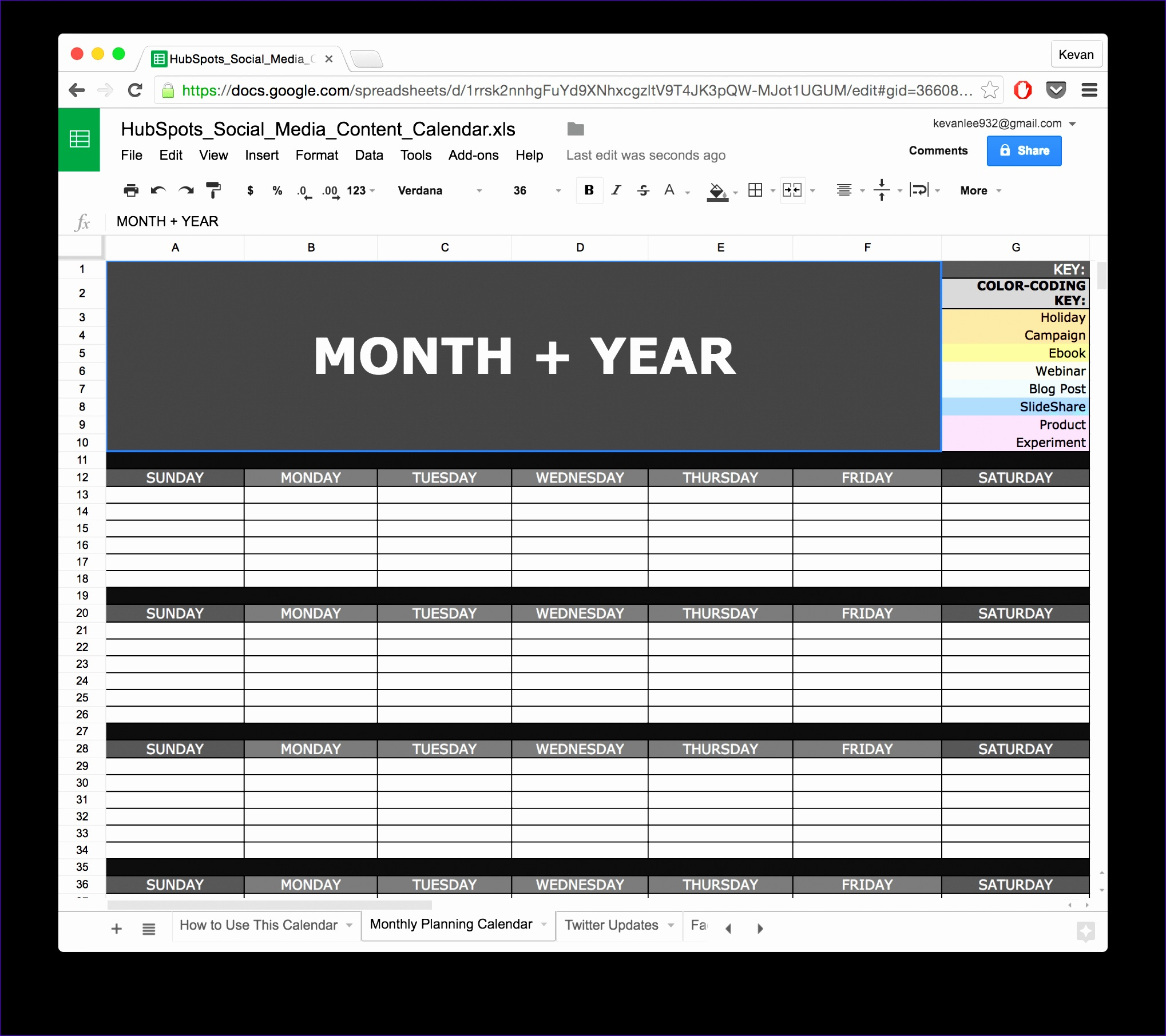 Social Media Calendar Template Excel Onkfz Best Of 10 Ready to Go Marketing Spreadsheets to Boost Your Productivity today