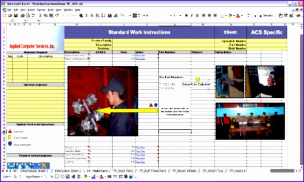Standard work instructions excel template yecba lovely 9 for Standard work instructions excel template
