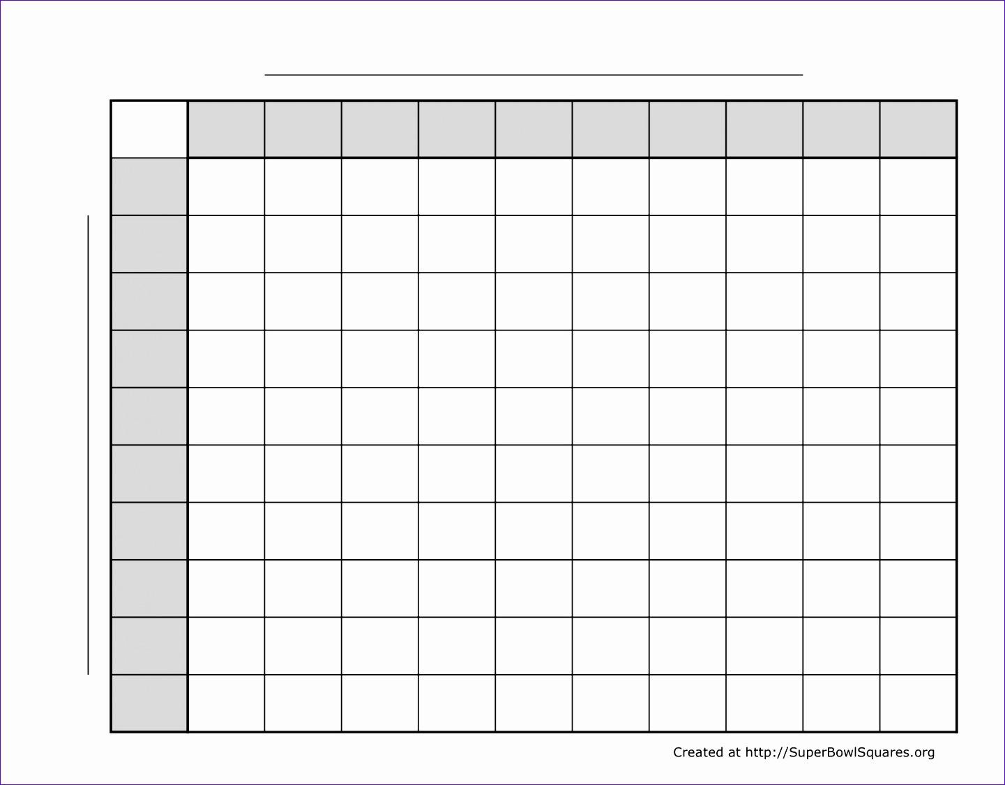 football squares 10x10