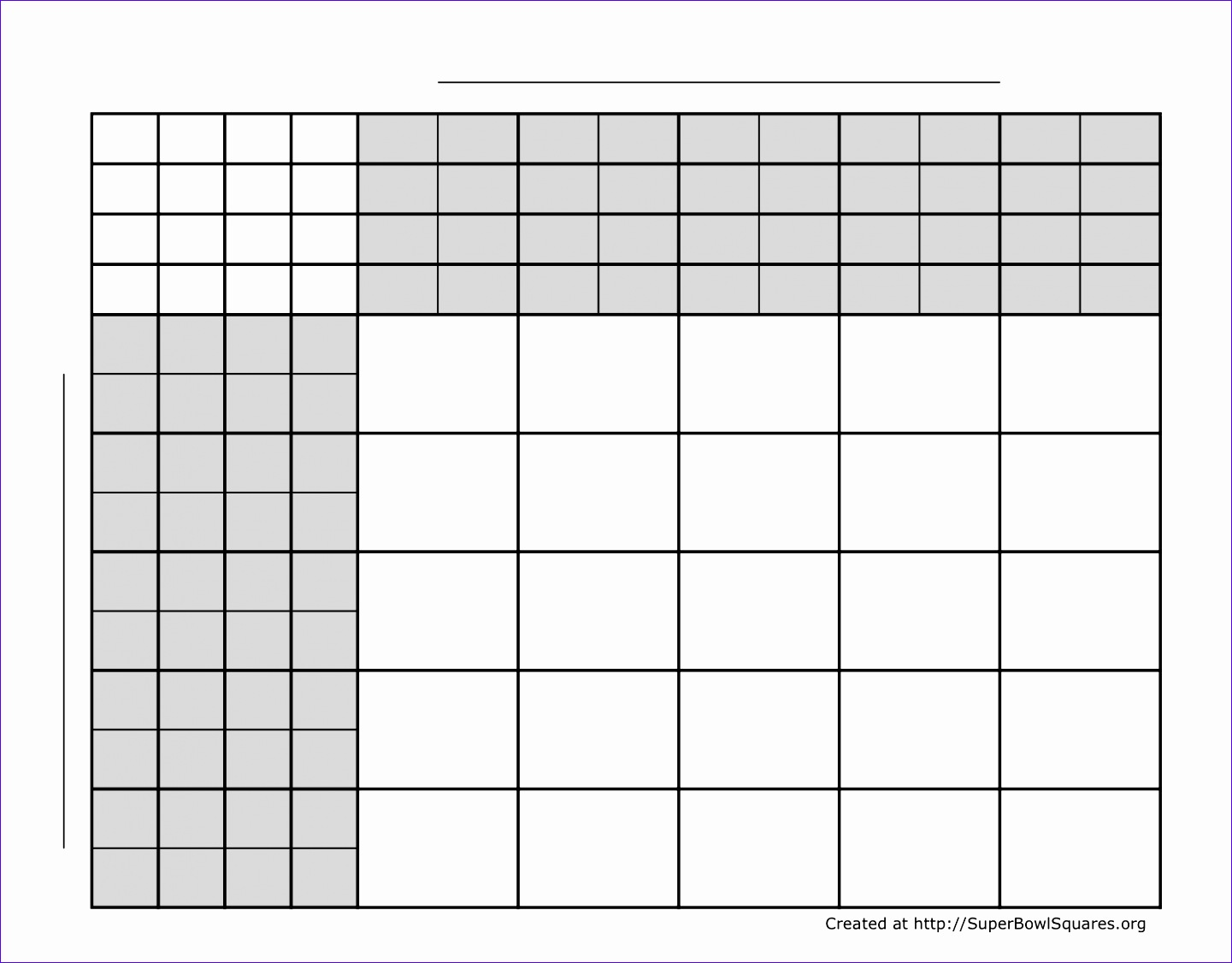 5 super bowl squares excel template exceltemplates exceltemplates football squares 5x5 4 sets alramifo Images