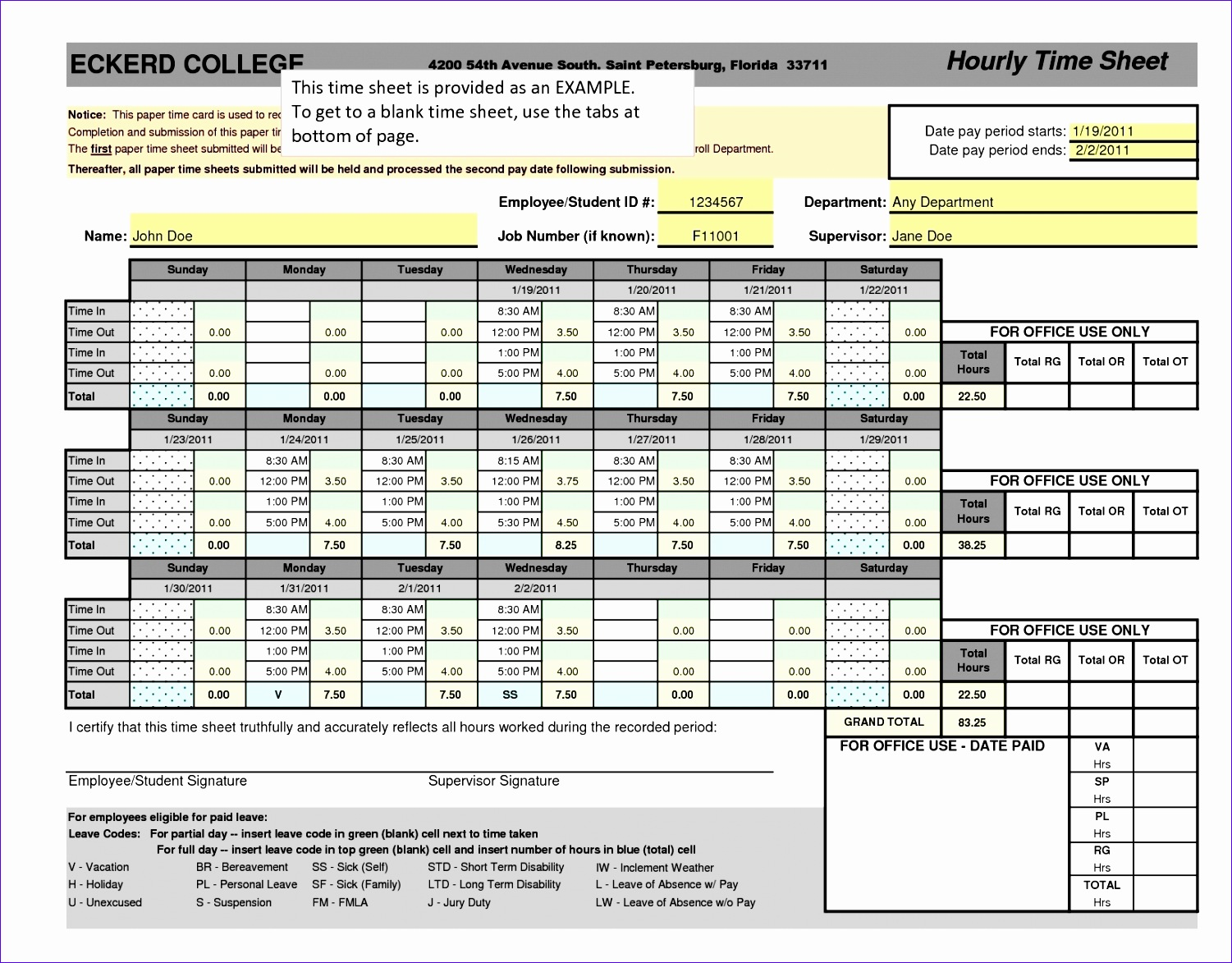 10 Timesheet Calculator Excel Template - ExcelTemplates - ExcelTemplates