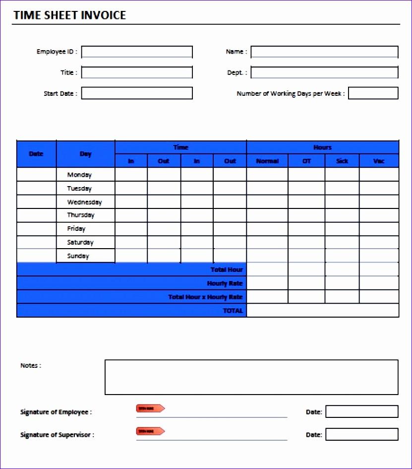 timesheet invoice template adobe pdf microsoft word