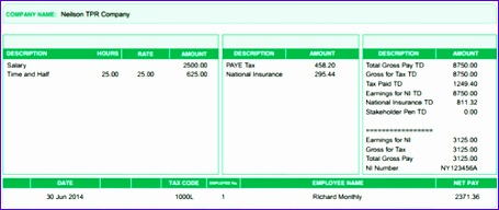 ... Uk Payslip Template Excel I0jnp Fresh Payslip Templates Template  Examples ...  Free Payslip Template Uk