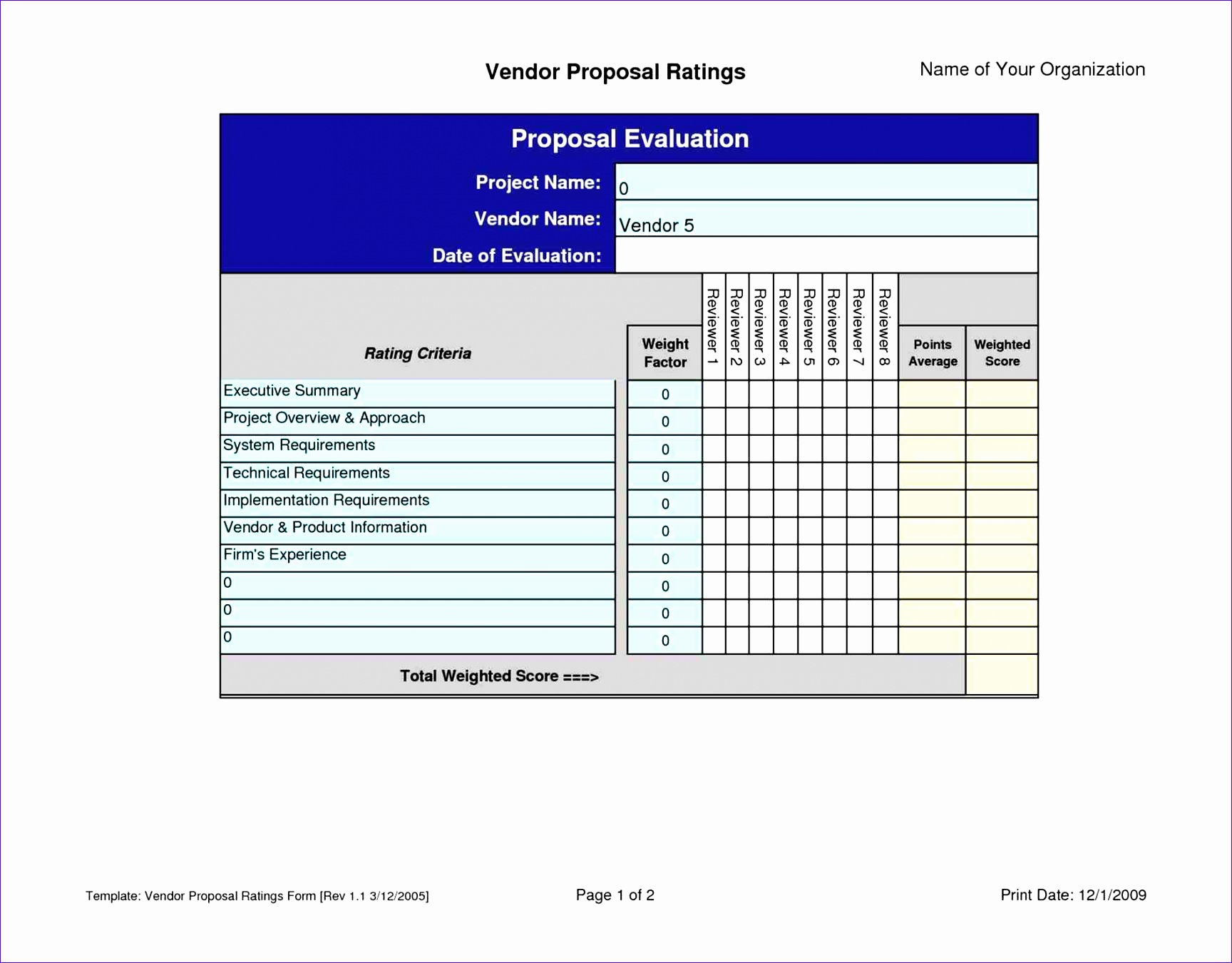 12 vendor management excel template exceltemplates for Vendor management program template