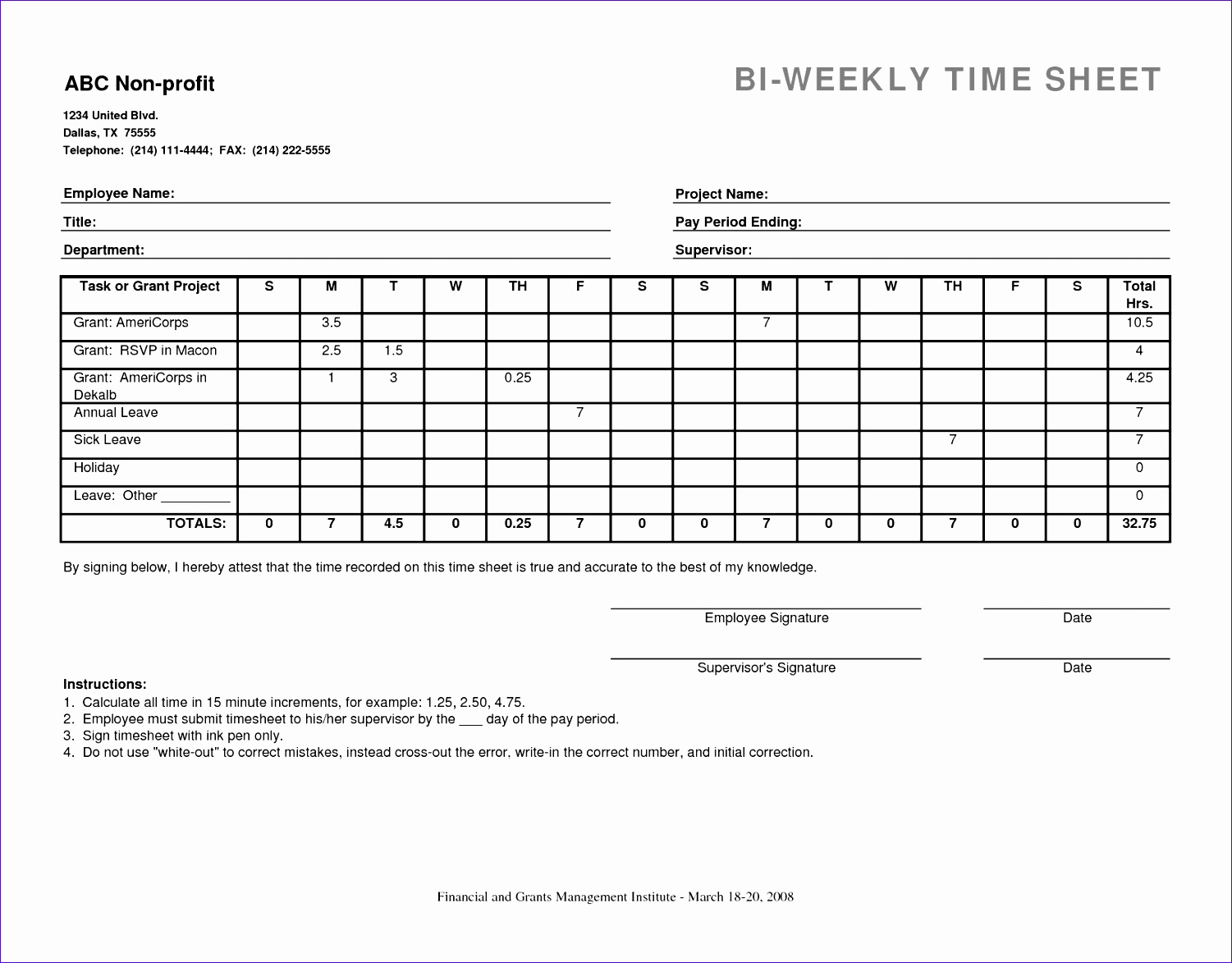 Weekly Time Sheets Ezcep Awesome 10 Best Of Bi Weekly Timesheet Template with Breaks Bi