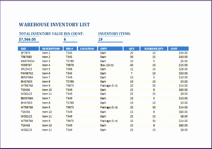 Wine Collection Inventory Fxiks Best Of Ms Excel Warehouse Inventory List Template