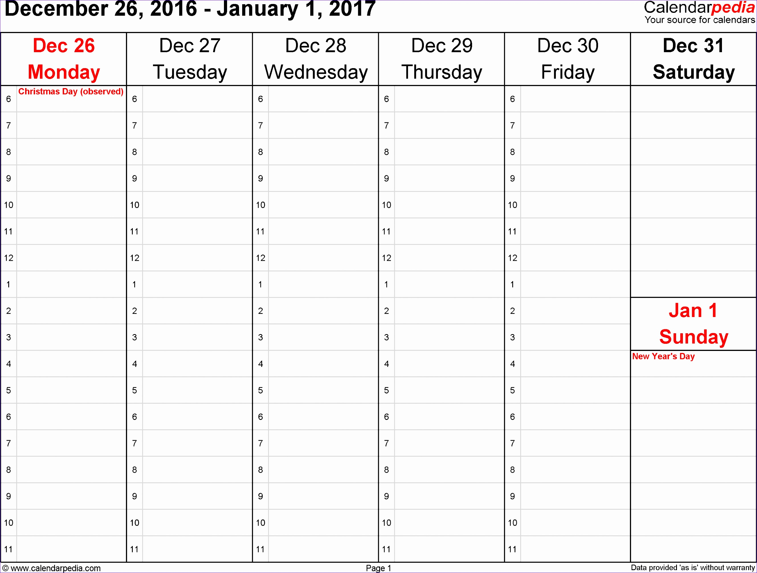 Work Hours Excel Template Dhsq4 Inspirational Weekly Calendar 2017 for Excel 12 Free Printable Templates