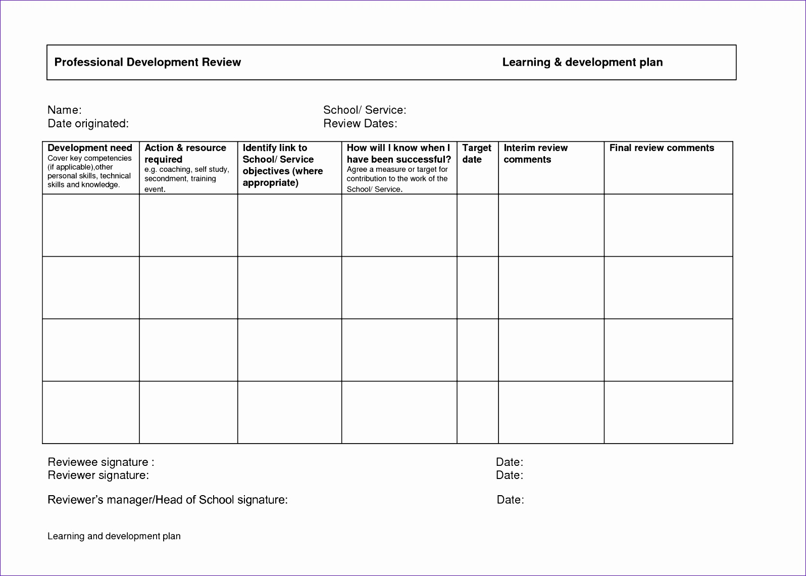 development plan template qvrbrzmh