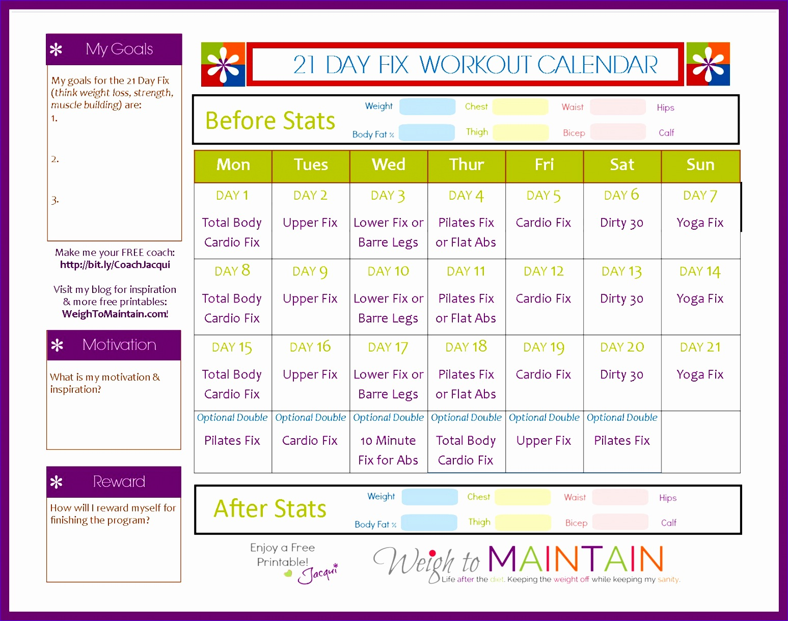 Workout Schedule Template Excel Iknzd Beautiful 21 Day Fix Workout Schedule Free Printable Pdf