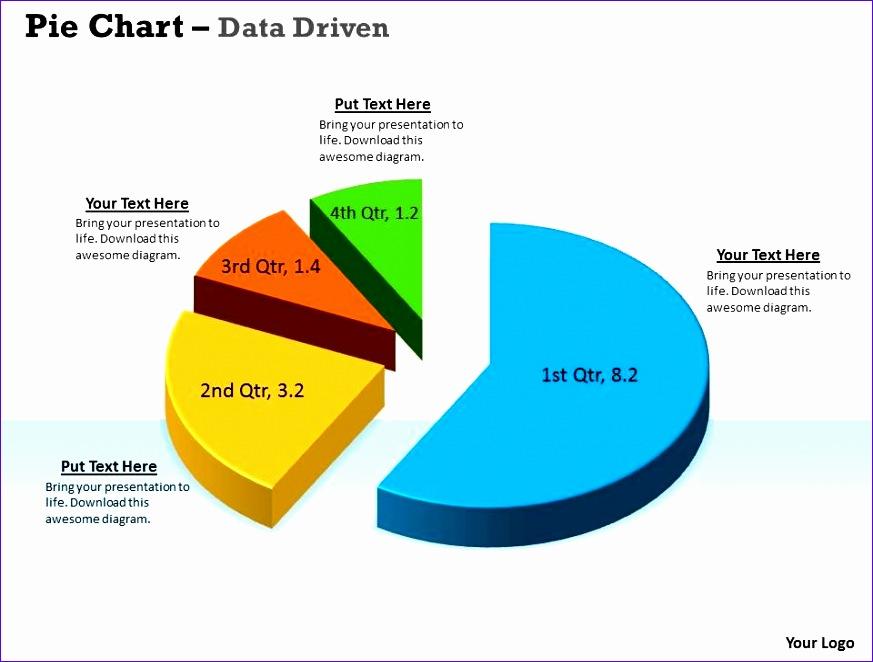 30 60 90 Plan Template Excel Q5vez Inspirational Data Driven 3d Data In Segments Pie Chart Powerpoint 960720