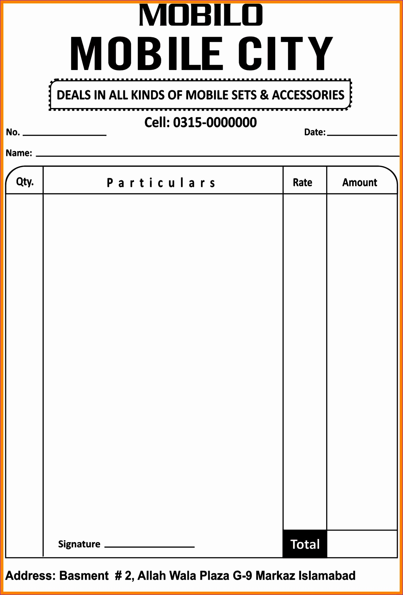 Excel Business Budget Template Jenyd Fresh 7 Cash Memo Bill format 14482115