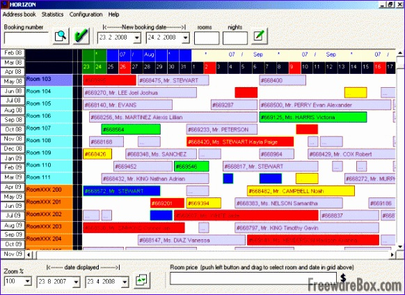 screenshot horizon reservation system free edition 582423