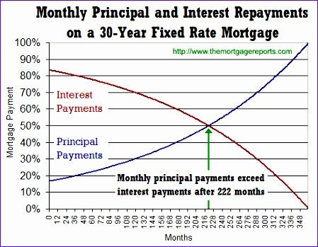 principal interest mortgage payment amortization 449349