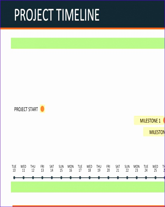 excel project timeline template free 546685
