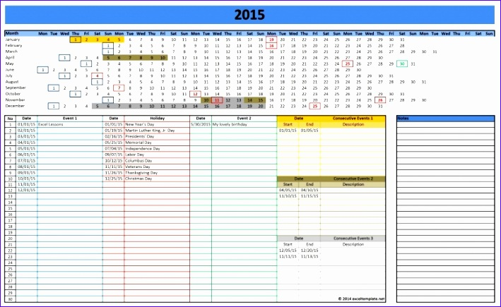 leave rostering calendar excel 2016 709435