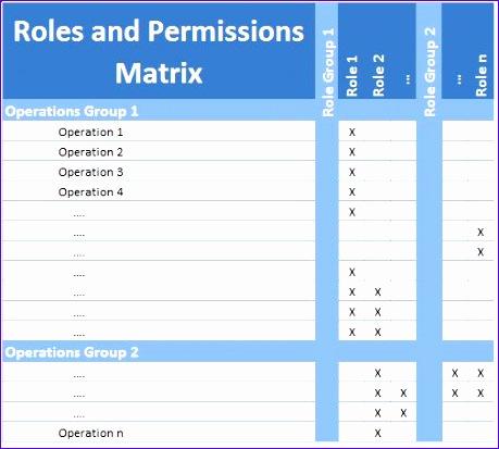roles permissions matrix 459413