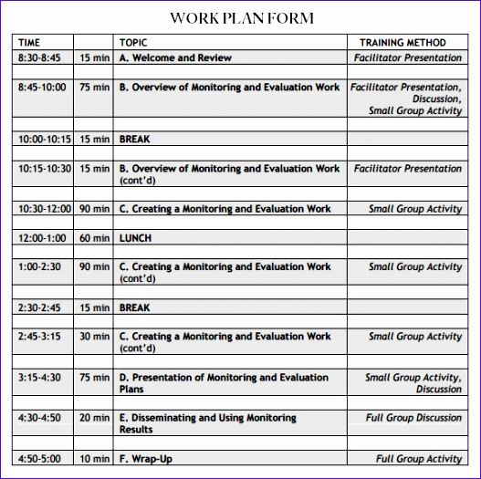 work plan template 527525