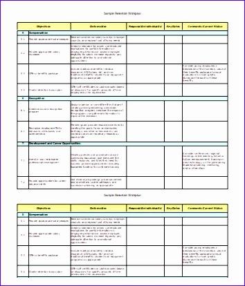 excel work plan 354414