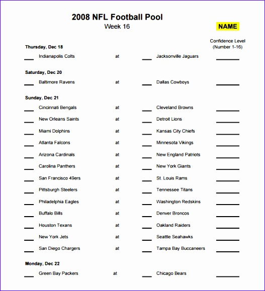 Football Squares Template Excel Fjwoq Best Of Sample Football Pool 7 Documents In Pdf Word Excel 580630