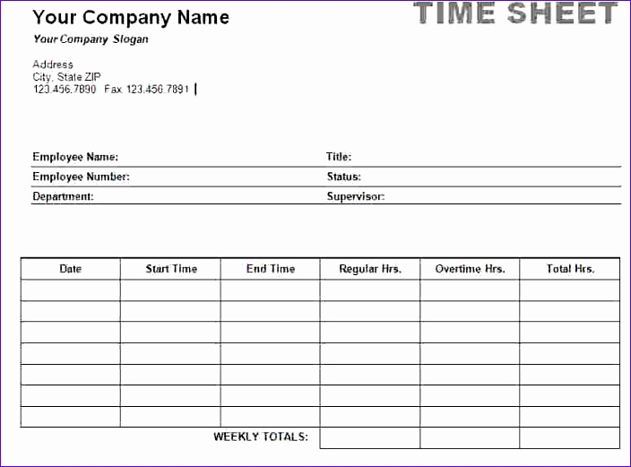 Free Purchase order form Template Excel Oezli Unique 7 Timesheet Template Word 774567