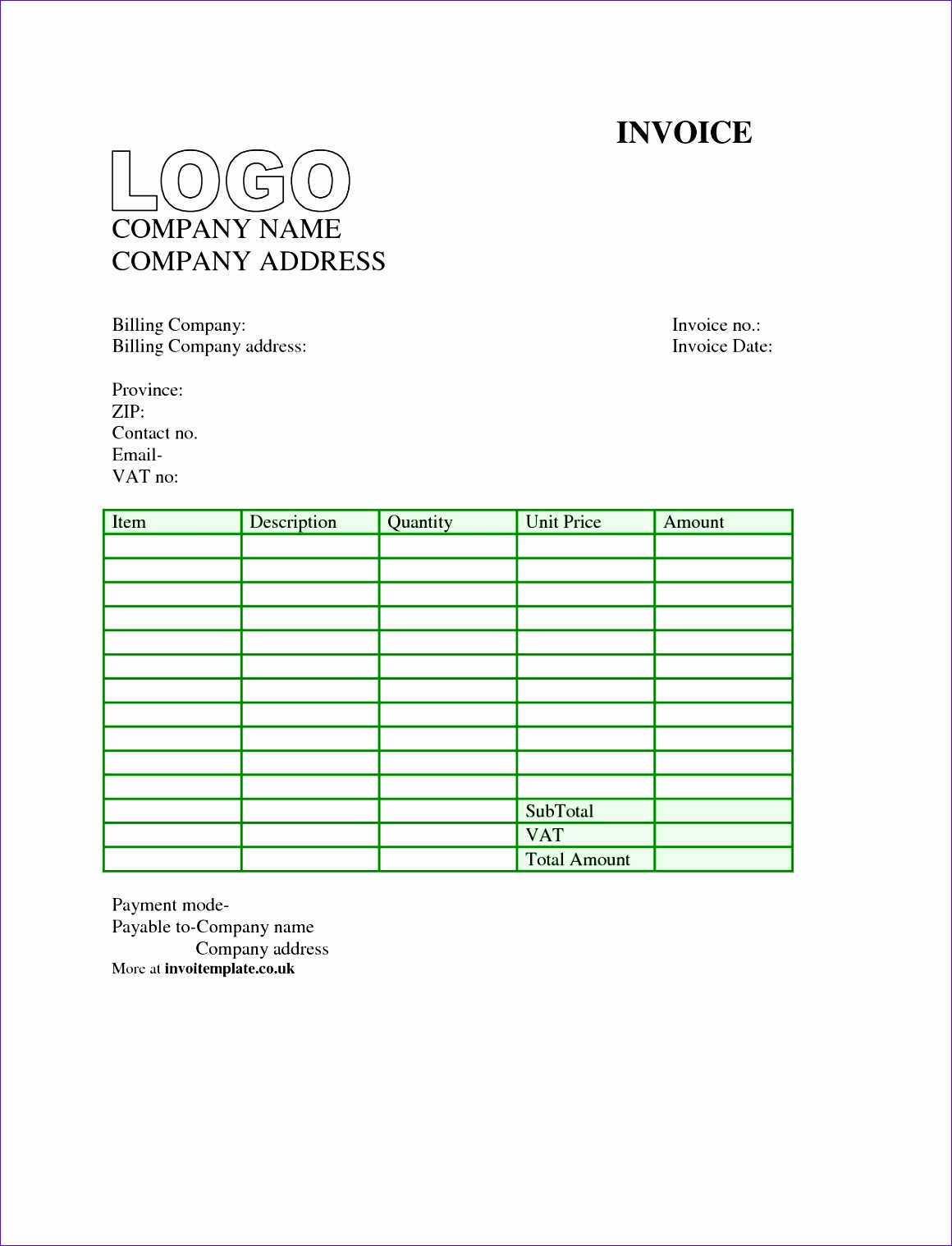 Invoice Template Nz Excel Ivurd New Free Invoice Template Uk Mac 12751650