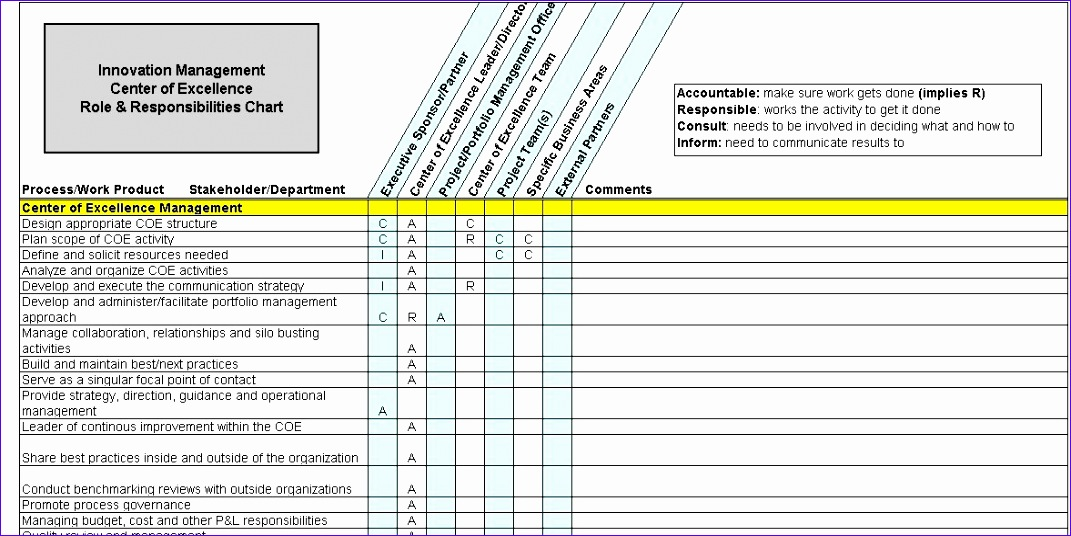 Project Requirements Template Excel Iiifk Lovely Innovation Management Artifacts 1177583