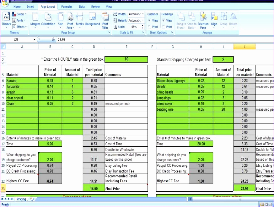 etsy shop policies template - 14 retail sales tracking template in excel