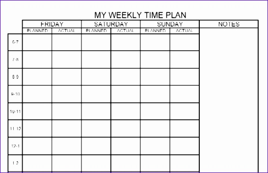 how to create timetable excel