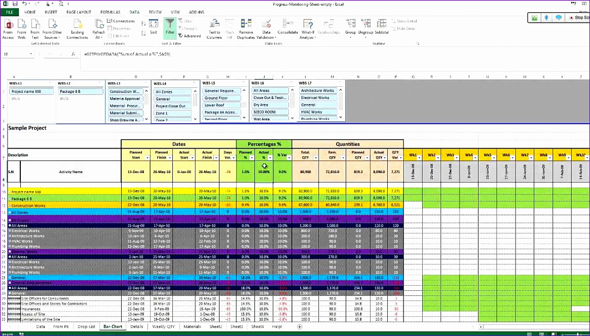 Sign In Sign Out Sheet Template Excel M6whw Fresh Monitoring and Controlling Excel Sheet From Primavera to 1280720
