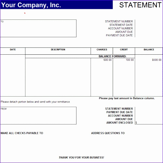 statement of account template cxvky ideas sample statement of