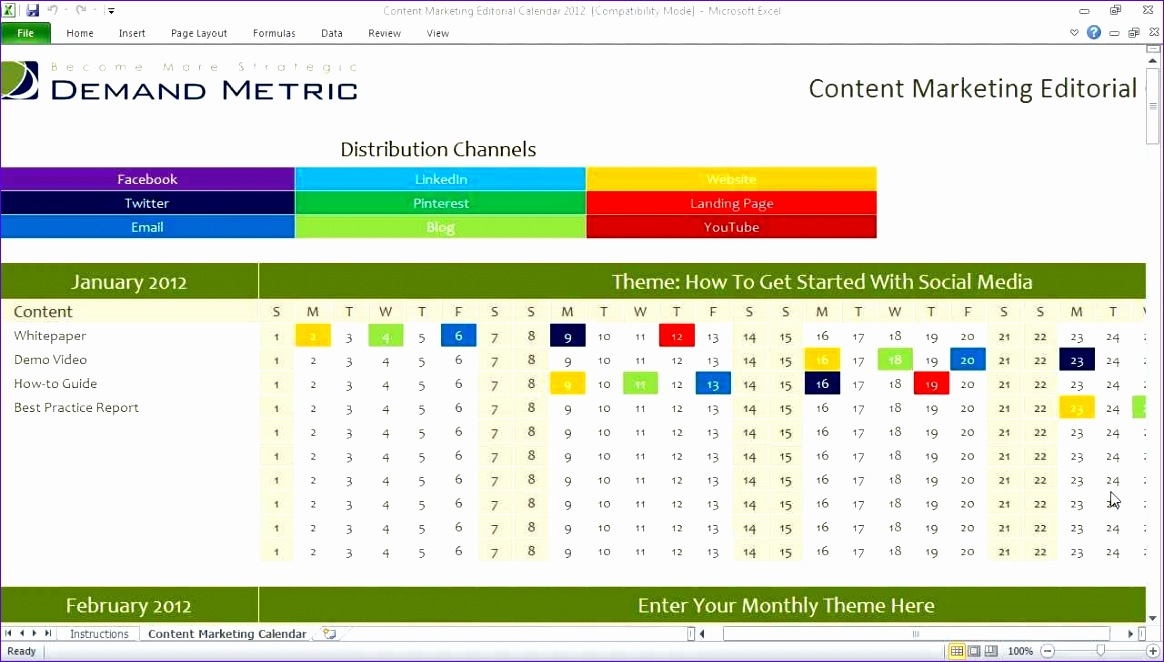 Timeline Spreadsheet Template Excel Vtsiv Luxury Content Marketing Editorial Calendar 1280720