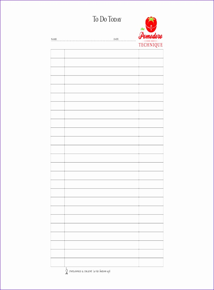 to do list template 698942