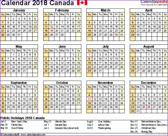 2014 Excel Calendar Template Pstd Unique November 2018 Calendar