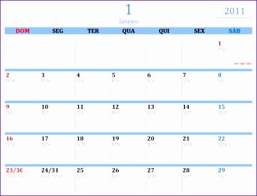 calendario de 2011ftonic 500382