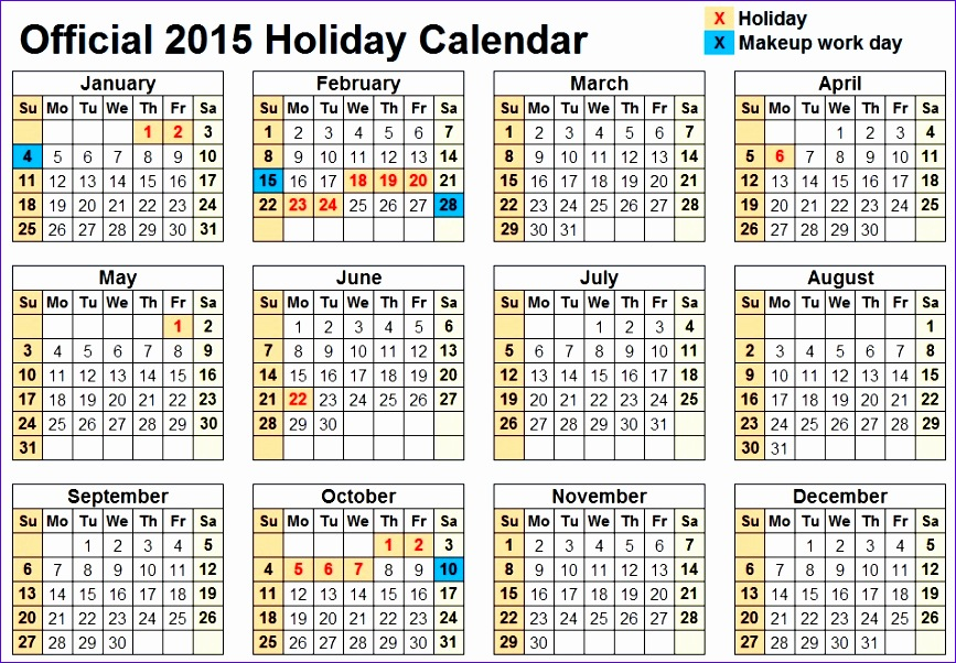 year calendar 2015 week numbers 867602