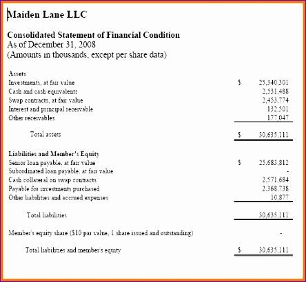 llc balance sheet 444410