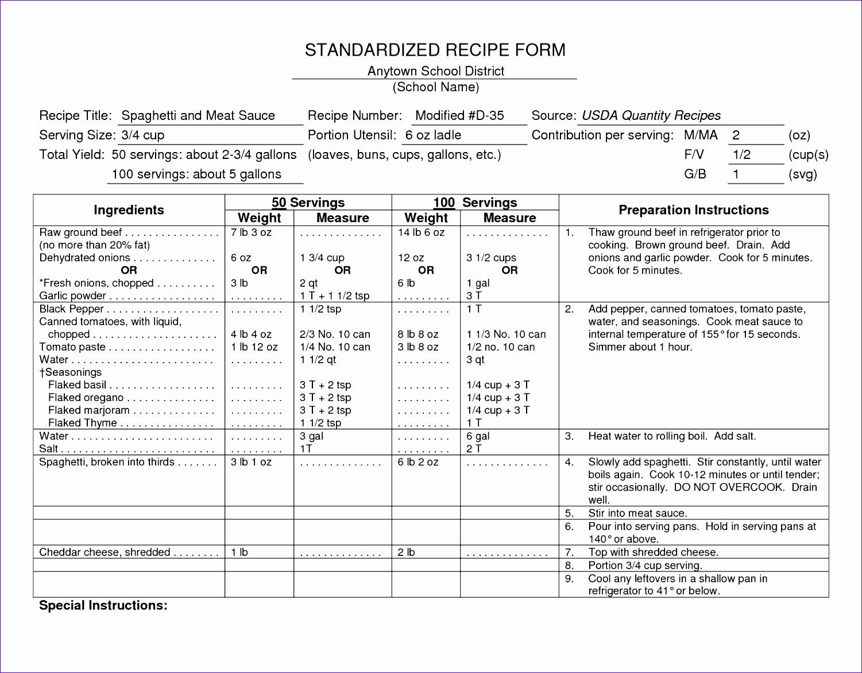 standardized recipes 15011173