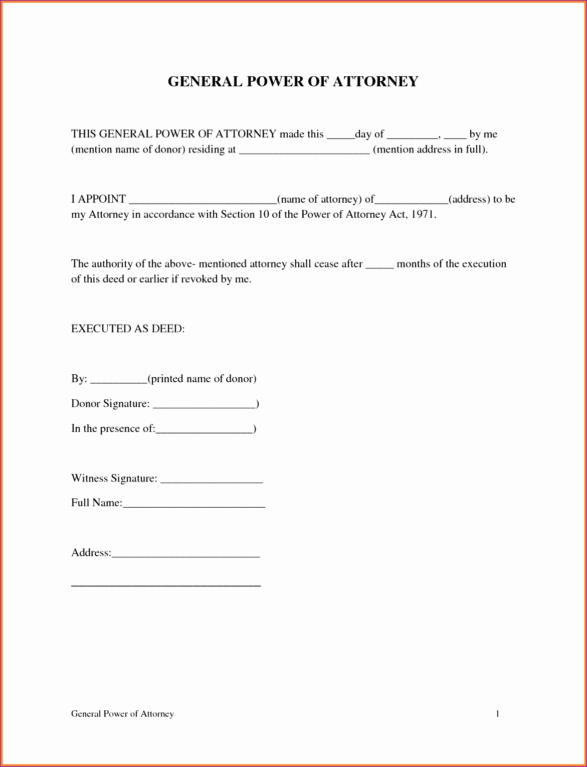 9 printable power of attorney 11711529