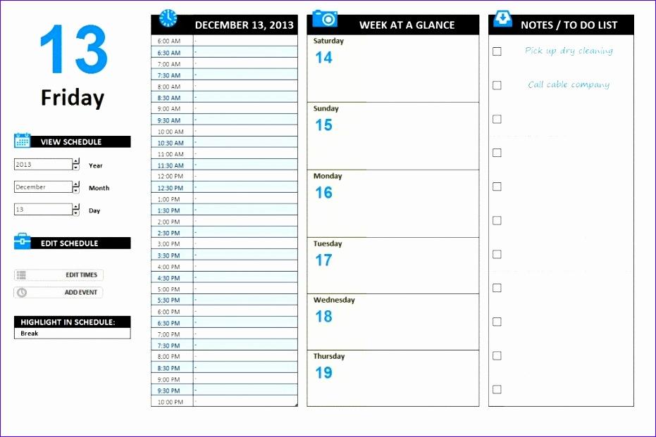 11 free agenda template excel 3 931621