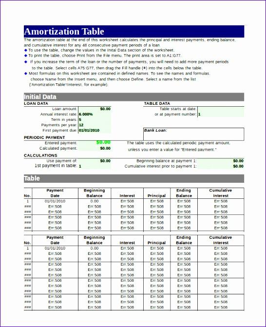 8 amortization schedule excel template exceltemplates exceltemplates. Black Bedroom Furniture Sets. Home Design Ideas