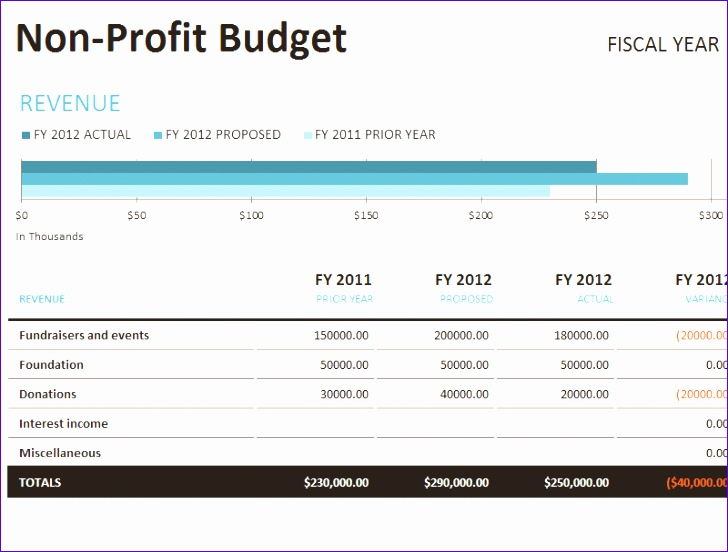 Annual Budget Template Excel Rbgce Unique Download Fundraising Excel ...