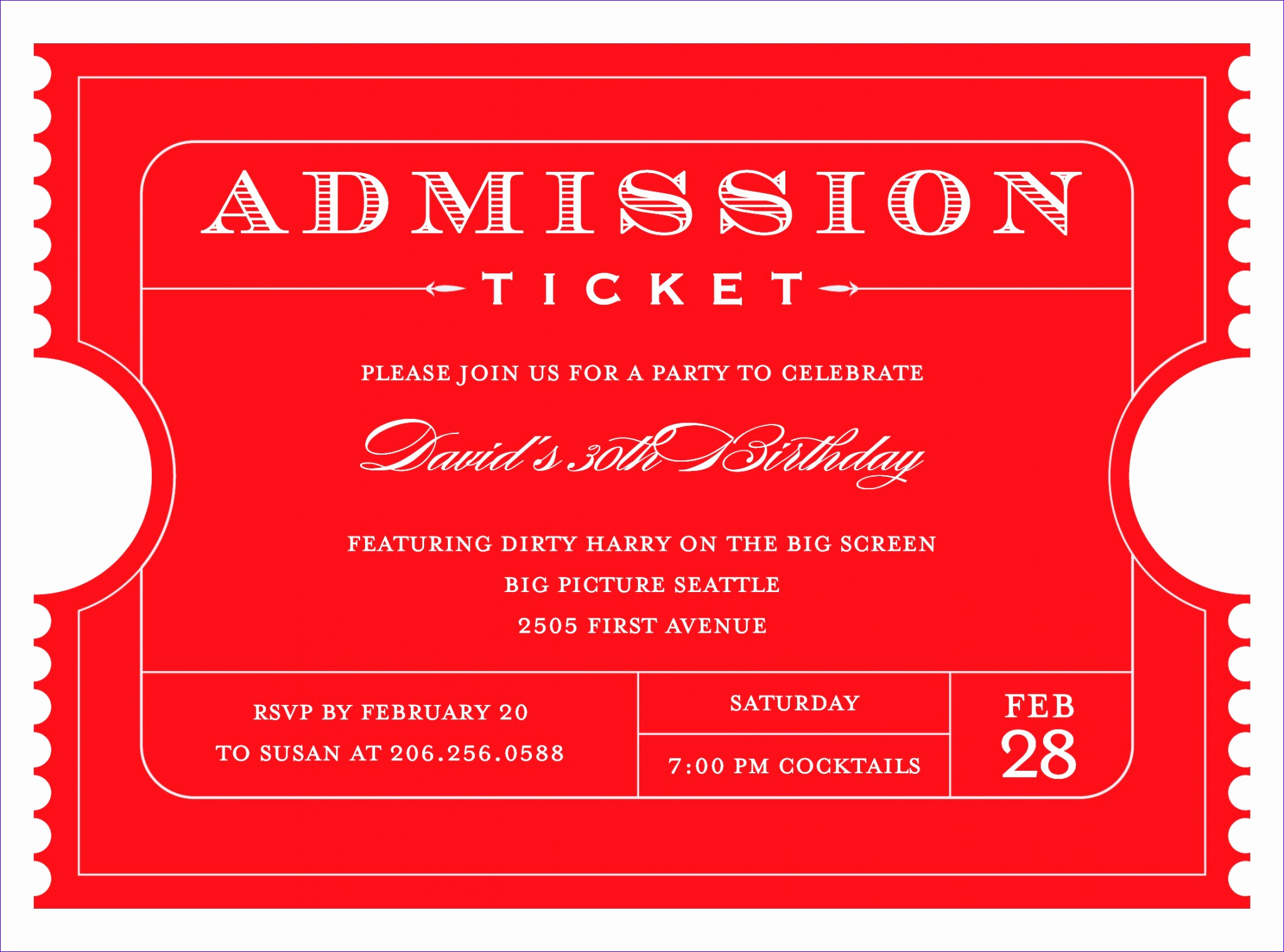 4 free admission ticket templates word excel pdf formats 20471518