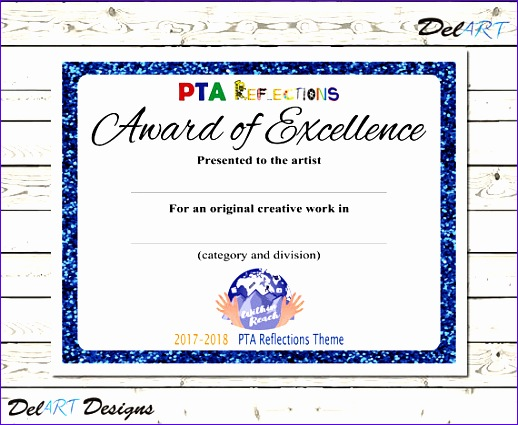 pta reflections certificate 2017 2018 518425