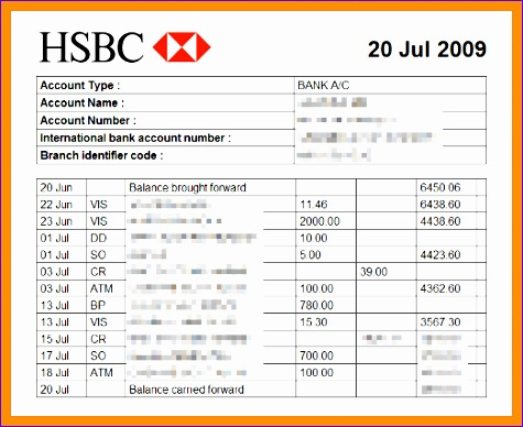 Bank Statement Template Excel Ghskp Unique 6 Bank Statement Template Excel 522422