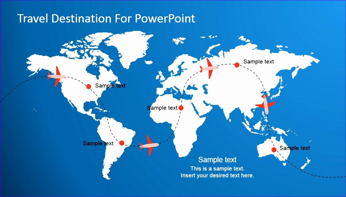 travel destination powerpoint template 1164662