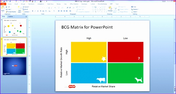 5 bcg matrix template excel - exceltemplates